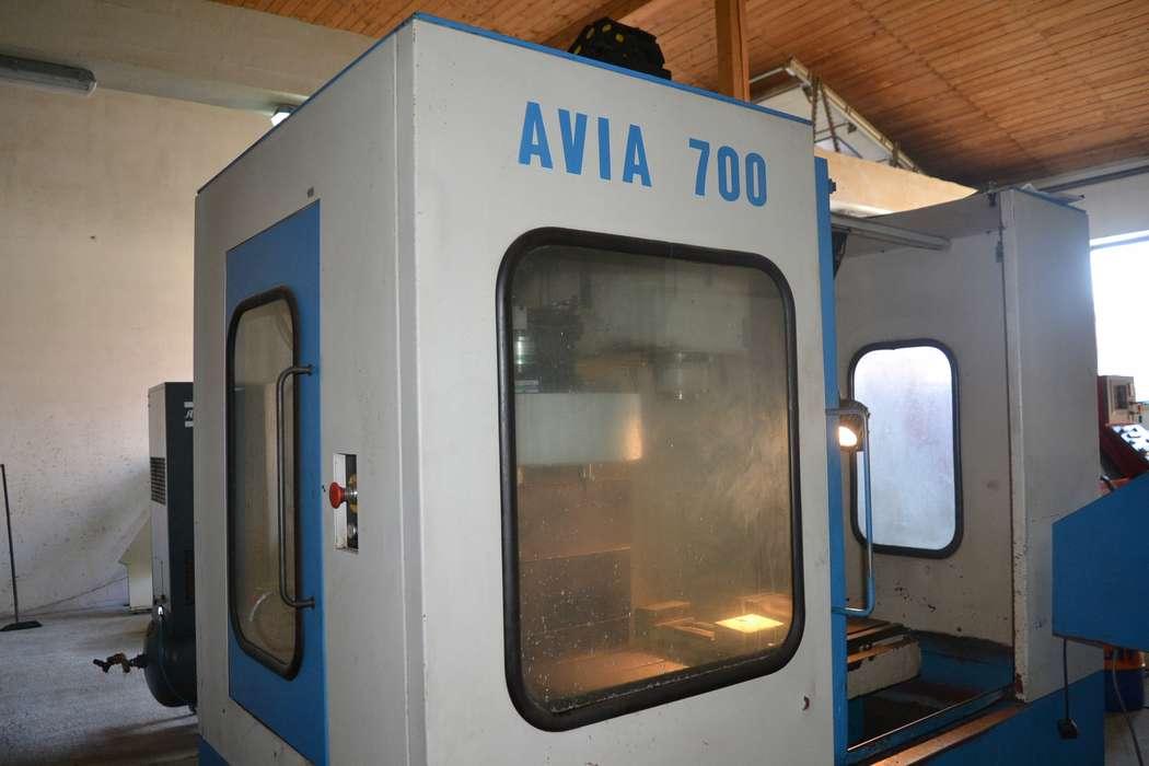 Pionowe centrum obróbcze AVIA 750